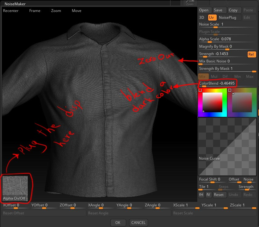 Quick Tips: How To Create Cloth Material In ZBrush